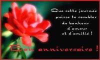 joyeux anniversaire Emmanuelle