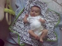 Ibrahim à 3 mois et demi