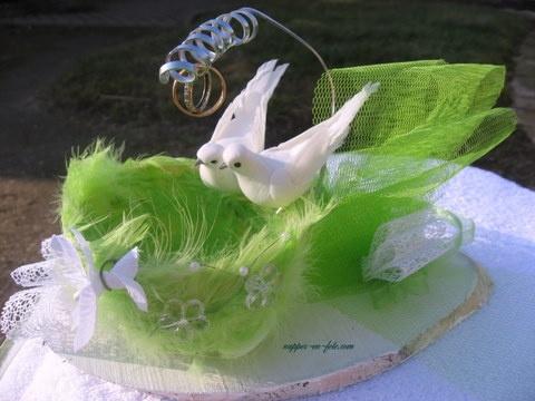 porte alliance vert et blanc #2