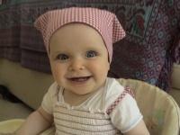 Ma petite puce, tout sourire, future coquine ???