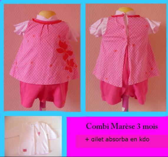 Combi Marèse 3 mois + kdo