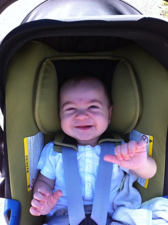 Liam 7 mois et 24 jours