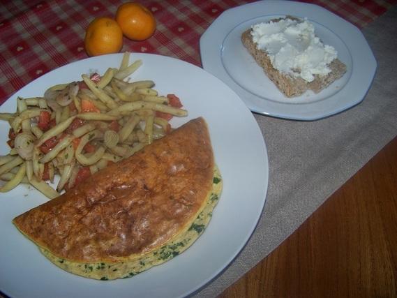 omelette au thon et haricots beurre r gime lucile564 photos club doctissimo. Black Bedroom Furniture Sets. Home Design Ideas