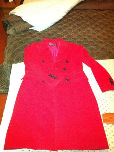 Manteau rouge ETE COMME HIVER