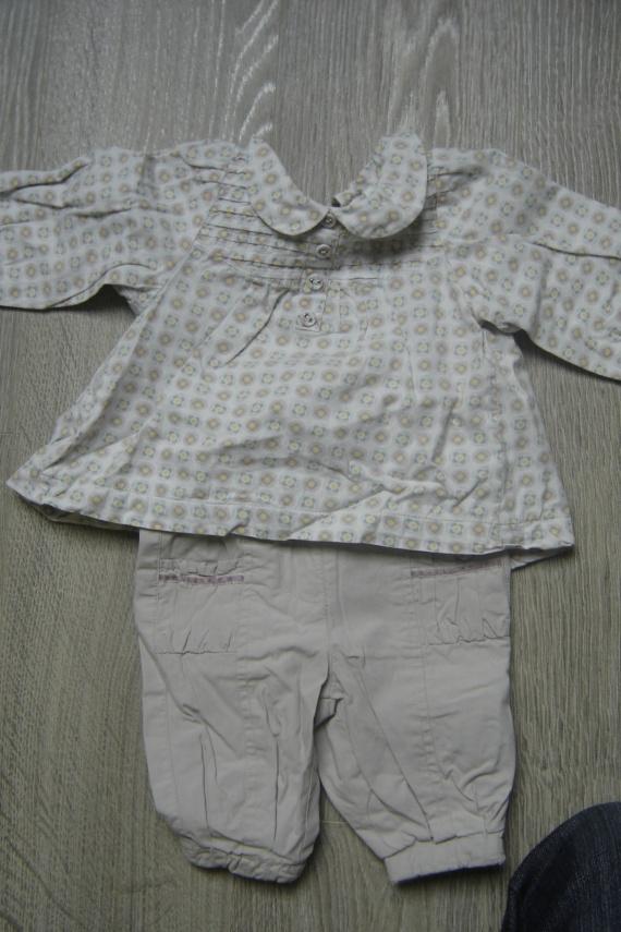 ensemble blouse + pantalon tape à l'oeil 5 euros