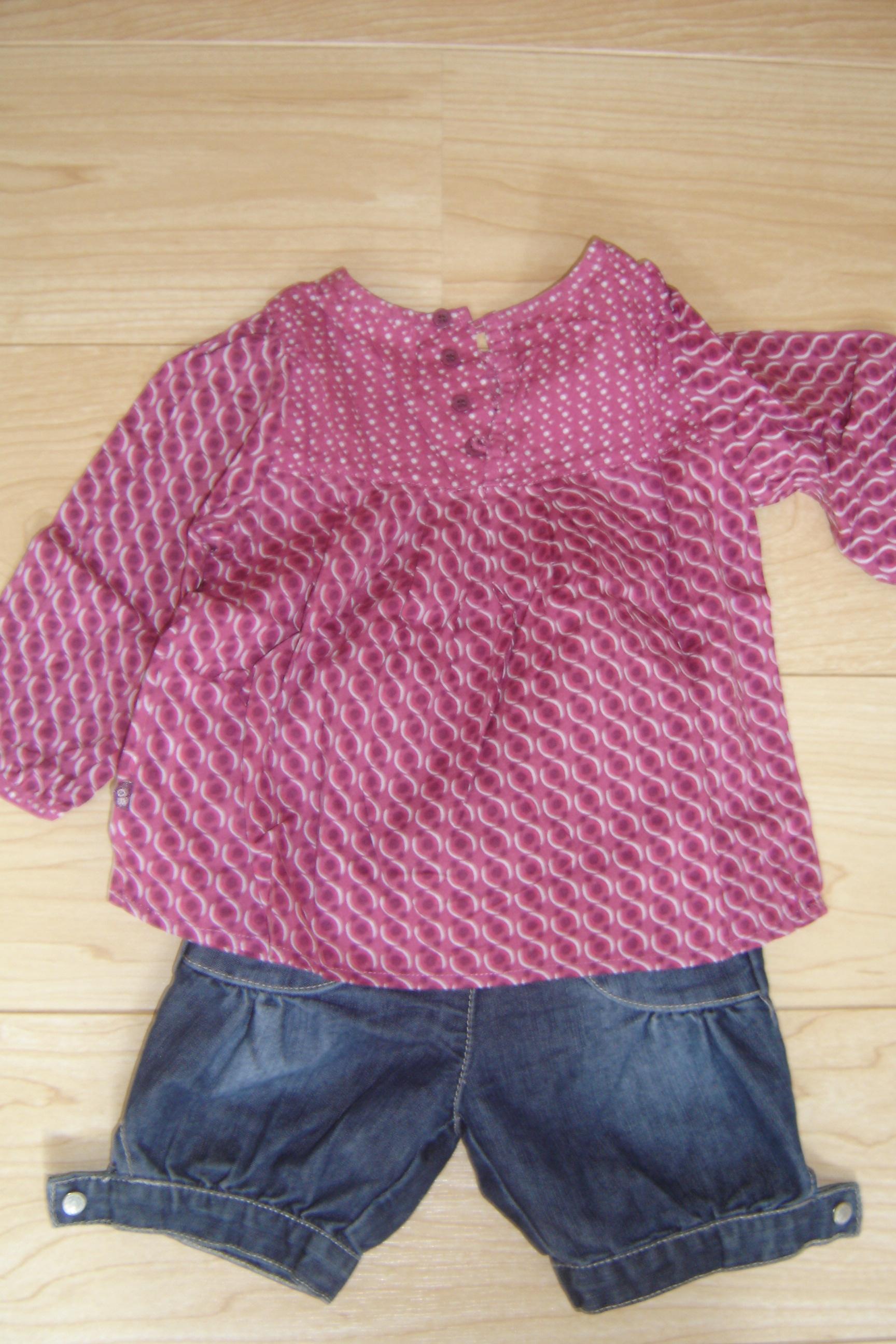 tunique longue coudemail 3 euros ensemble obaibi blouse + short 5 euros 9ba38e860ba