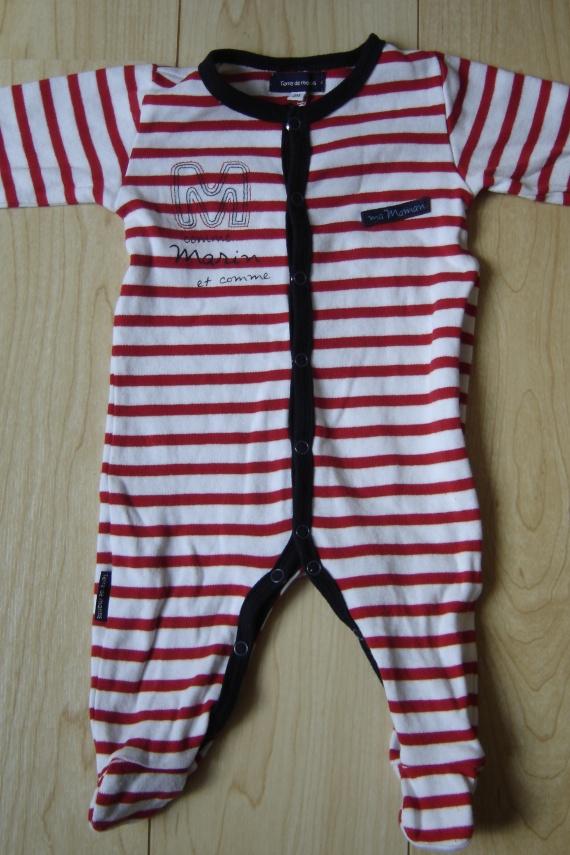 pyjama coton terre de marins 3 euros