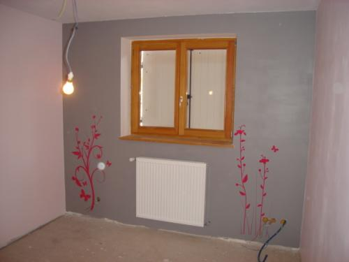 Edit: Apolline et sa chambre gris/rose.... (photos) - Chambre de ...