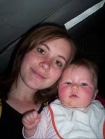 Rachel et sa maman