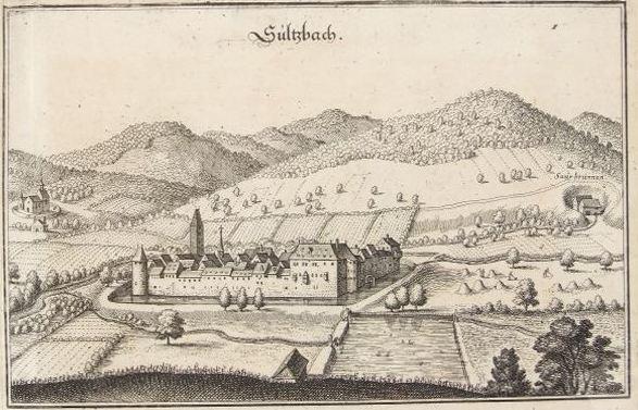 1644 Soultzbach les Bains par Merian