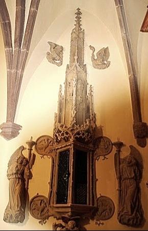 Custode St Jean Baptiste Soultzbach