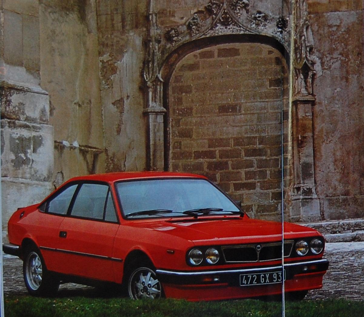 Le 1er août 1982, Lancia Beta