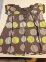 TUNIQUE LISA ROSE 3 ANS TAILLE LARGE 1.5€