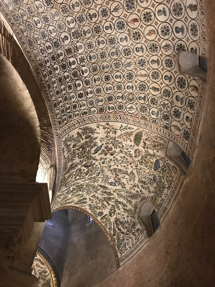 Mosaique Mausolée Santa Costanza