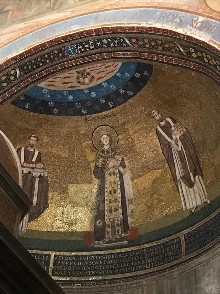 Mosaique de la Basilique Sant'Agata