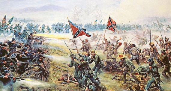 Guerre de sécession (1861-1865) Kunstler