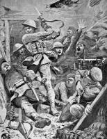 Assaut américain sur une tranchée allemande (1918)