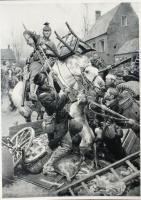 Haelen 1914, les Belges repoussent le Uhlans !