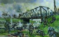 Prise du pont de Nimy (bataille de Mons le 23 août 1914)