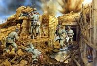 Une tranchée allemande (14-18)