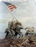 Iwo Jima (Tom Lovell)