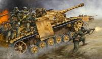Troupes d'assaut et char Tigre (1944)