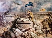 les Australiens à Menin (1917)