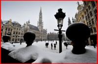 """Bruxelles """"Tombe la neige...."""""""