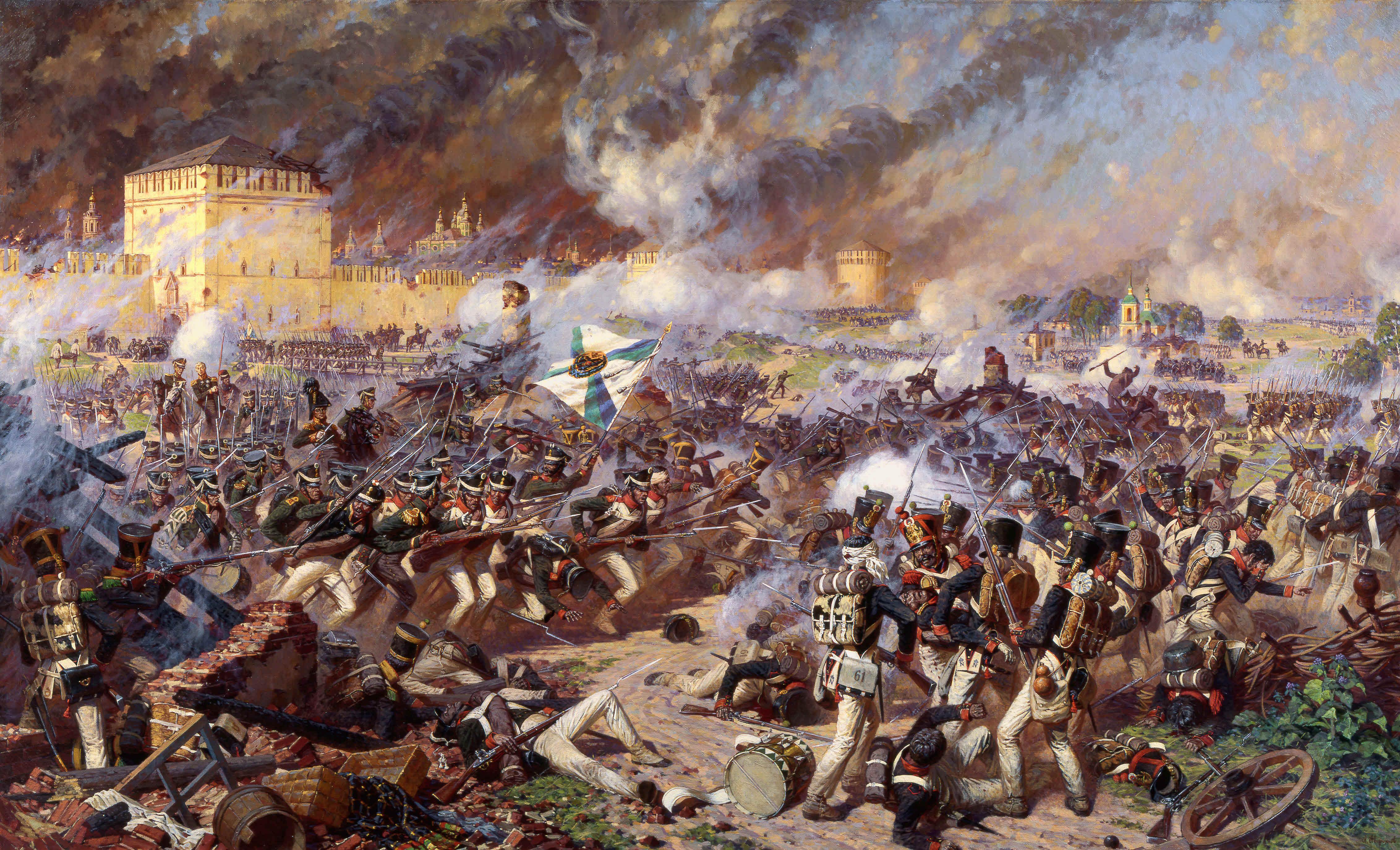 Campagne de Russie 1812. Alerter les modérateurs ...