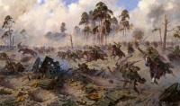 Bataille du Lac Mazure 1914