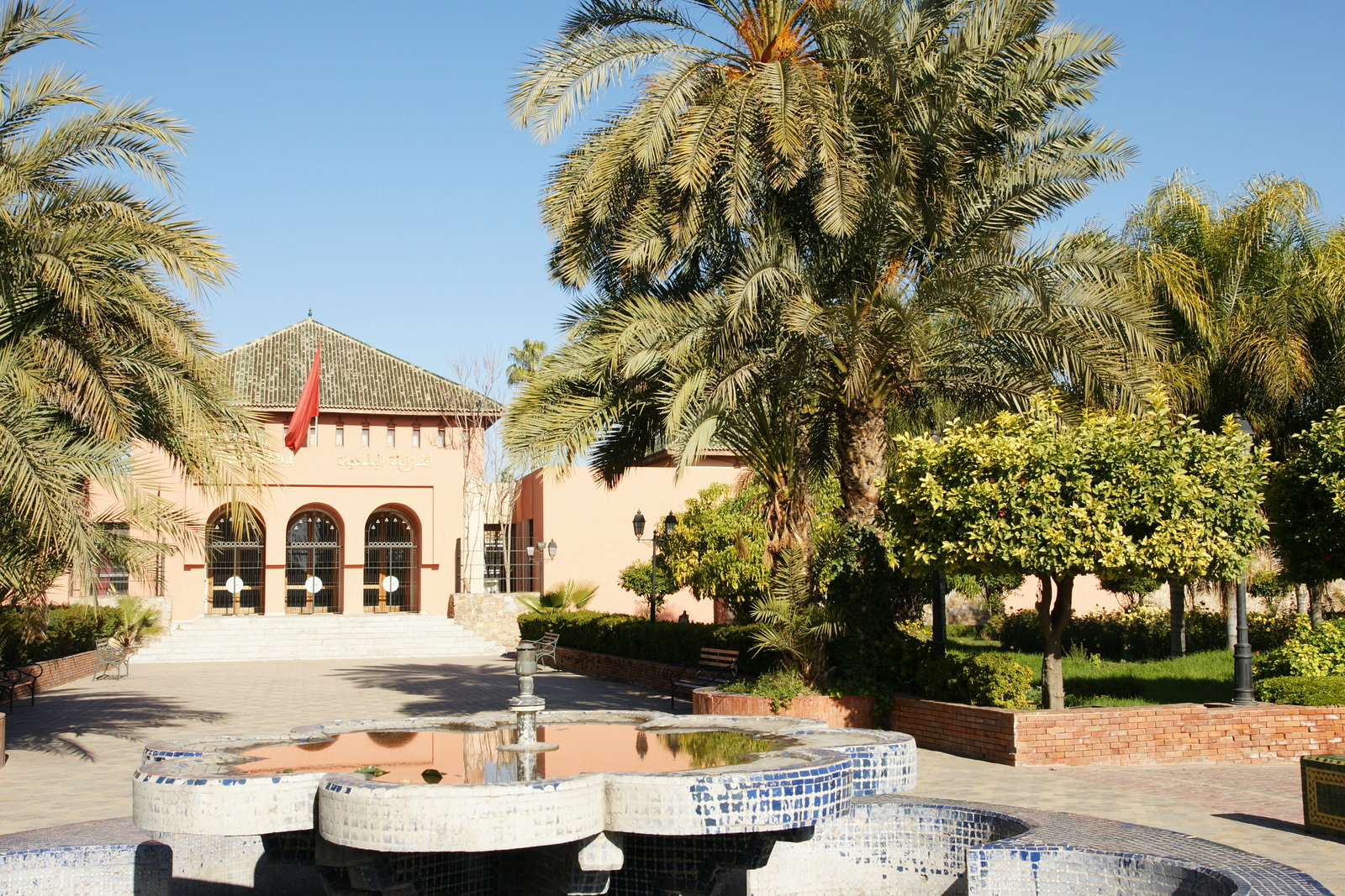 Le jardin de la koutoubia voyage marrakech janvier for Jardin koutoubia