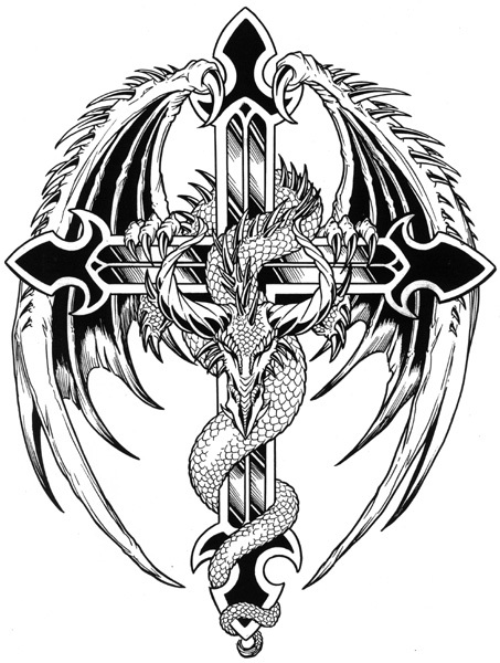 Dessin Dragon Tatouage estimation d'un tatouage - tatouages et piercings - forum beauté