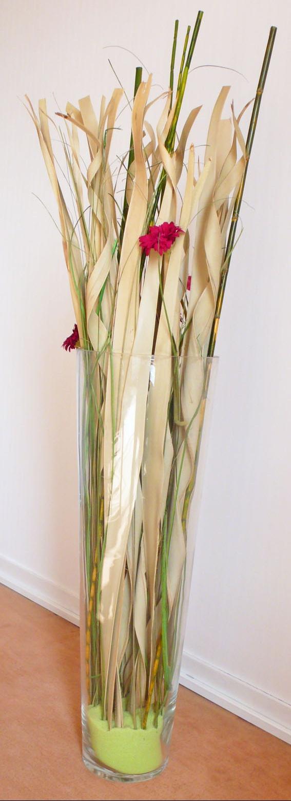 Deco Grand Vase En Verre