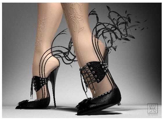 chaussures aiguilles