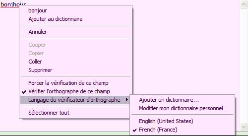 correcteur IE7 Pro