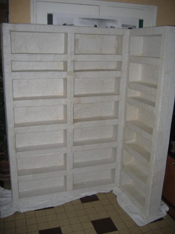 4 biblioth que d 39 angle mes meubles en cartons - Meuble bibliotheque d angle ...