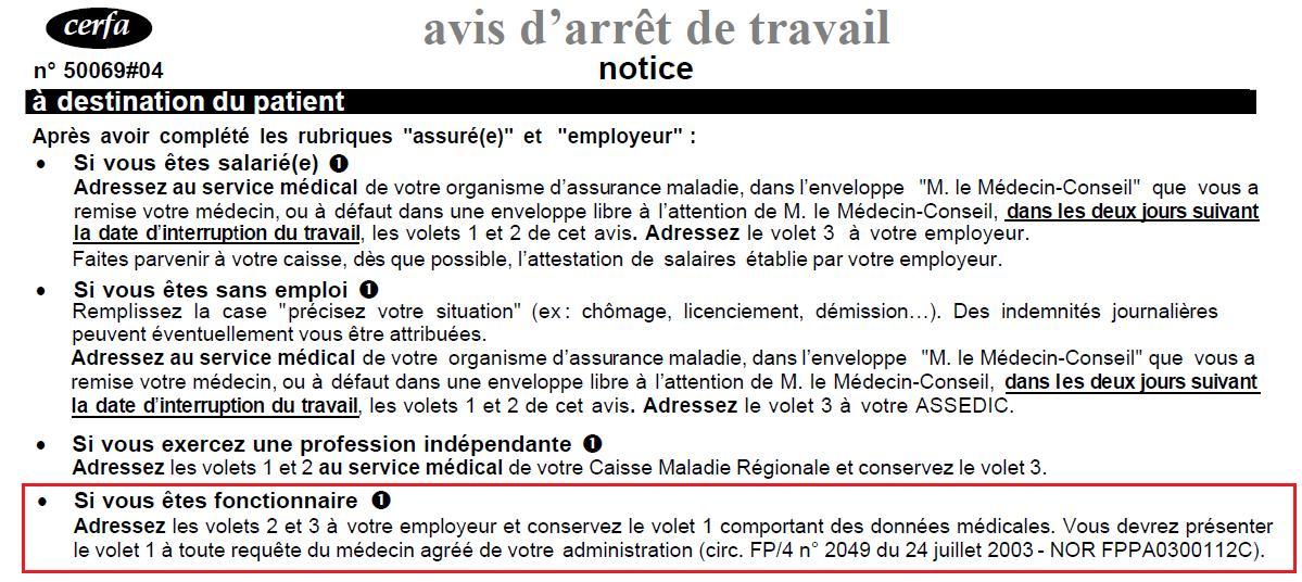Notice Arret De Travail Divers Dessiccateur Photos Club