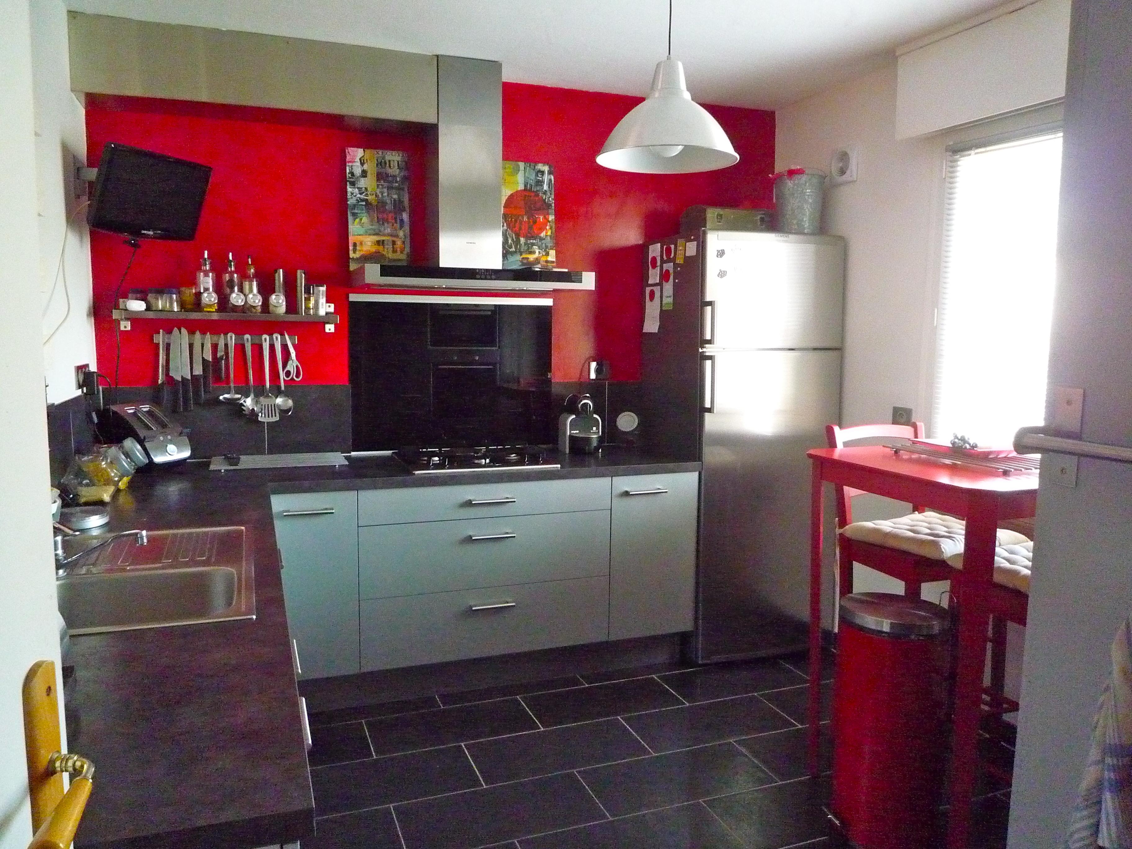 Cuisine Taupe Quelle Couleur Pour Les Murs cuisine gris taupe - décoration - forum vie pratique