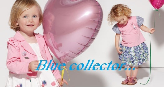 Blue collector