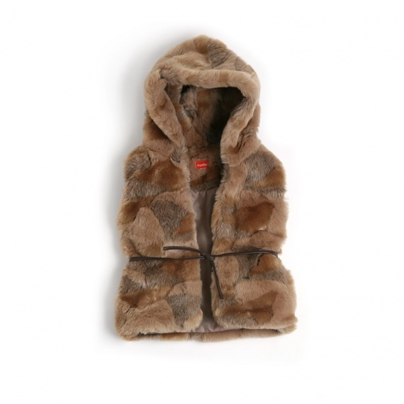 veste sans manches ledoux nomad 39 s land marese fille 2a 10a automne hiver 2011 modedesmarques. Black Bedroom Furniture Sets. Home Design Ideas