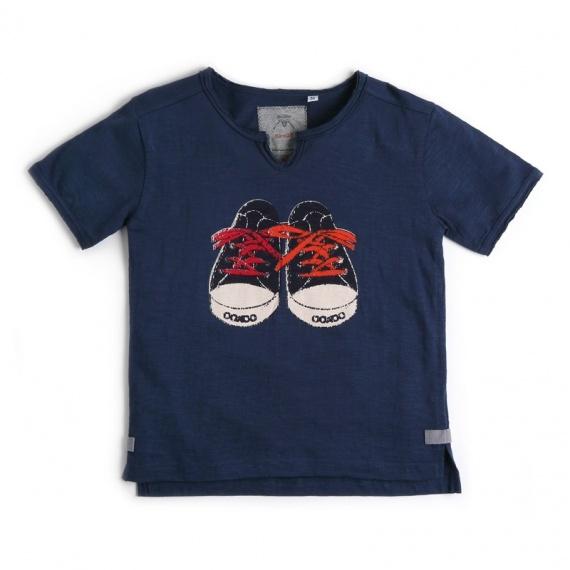 Tee-shirt MC NEROLI bleu cobalt