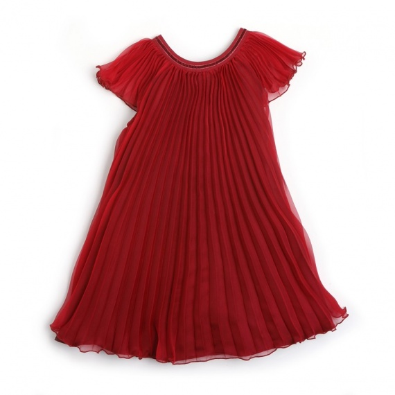 0ff91ea8457 SOPALINA Repetto - Robe Enfant Fille - Rouge Venice - REPETTO Hiver ...