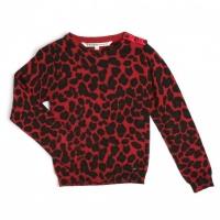 NAMBERY Ooxoo - Pullover Enfant Fille - Imprimé Jaguar