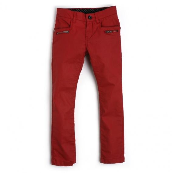 NANDINETTE Ooxoo - Pantalon Enfant Fille - Rouge Box