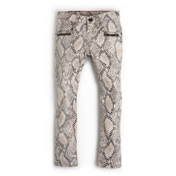 NASPIDE Ooxoo - Pantalon Enfant Fille - Imprimé Snake