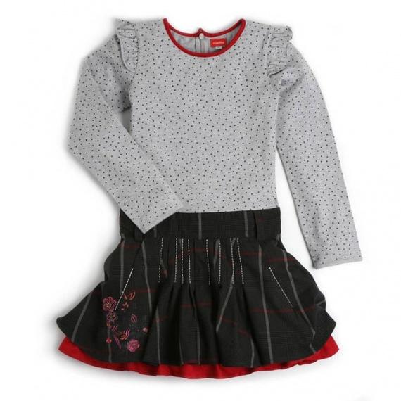 be35a037f173f LAROUSSE Marèse - Robe ml Enfant Fille - Imprimé Starlette - Un jour ...