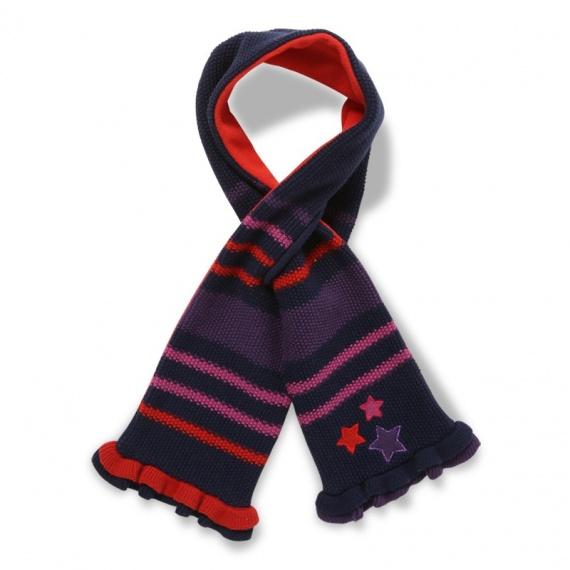 tricoter une echarpe fendue