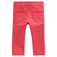 Pantalon PORELIE red rubis dos