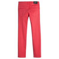 Pantalon PANDAWA red rubis dos