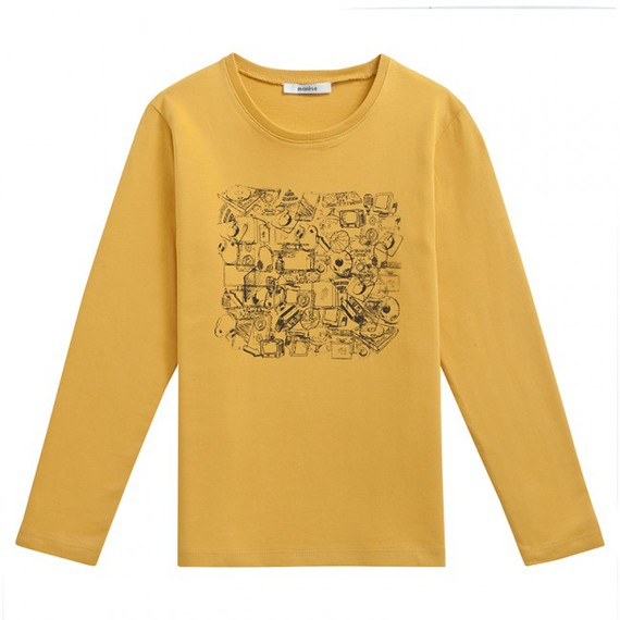 Tee-shirt ML PROMIA jaune